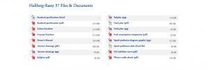 Hallberg-Rassy 37 Downloads
