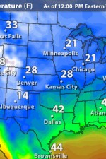 USA Current Temps