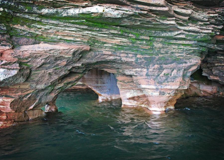 Inside Sea Caves
