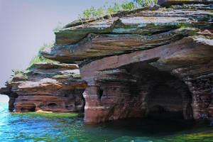 Devil's Island Sea Caves