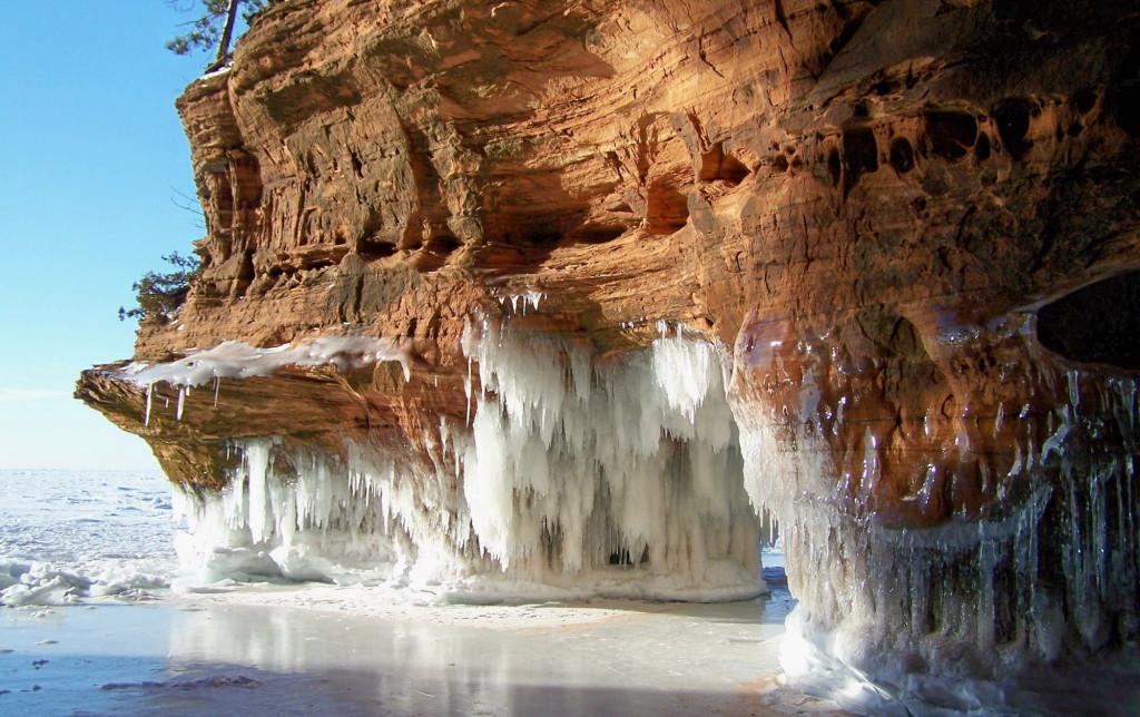 Winter Sea Cave